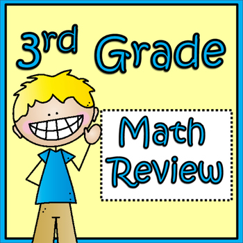 End of Third Grade Math Review