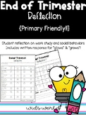End of Trimester Behavior Reflection