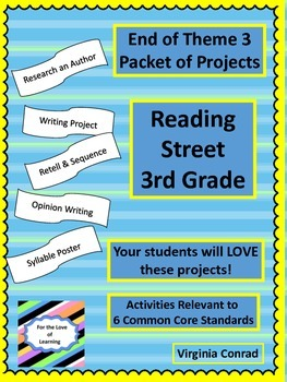 End of Unit 3 Projects--Reading Street Third Grade