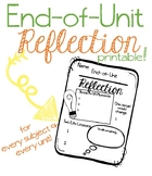 End-of-Unit Reflection