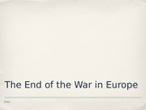 End of WWII Lecture