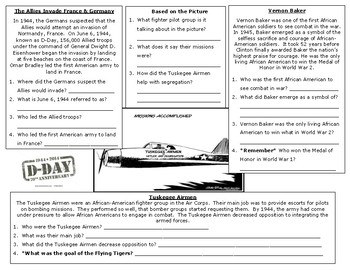 End of World War 2 Notes