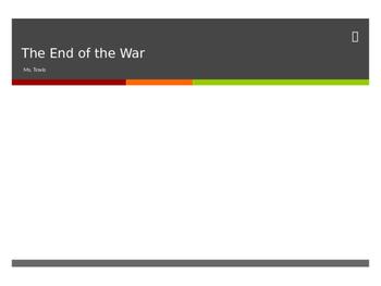End of World War II  interactive powerpoint