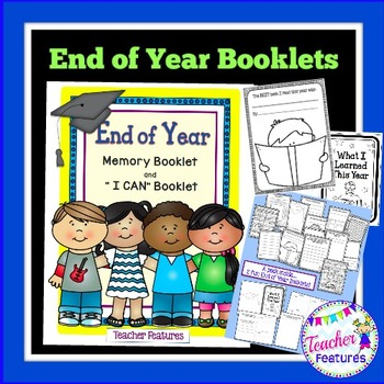 End of Year Memory Book {Grades 1-3}