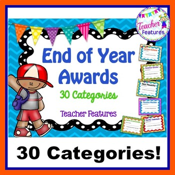 End of the Year Awards (Printable Rewards)
