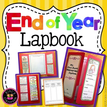 End of the Year Activities Lapbook