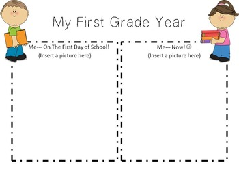 My End of the Year-1st Grade!