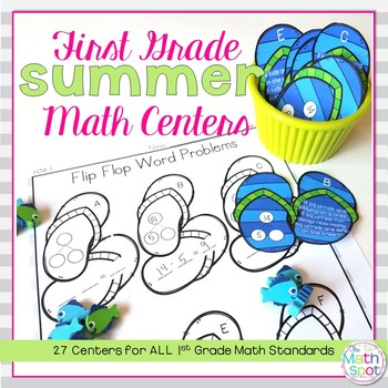 End of Year 1st Grade Math Centers