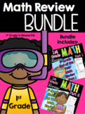 End of Year 1st Grade Math Review BUNDLE | Distance Learning