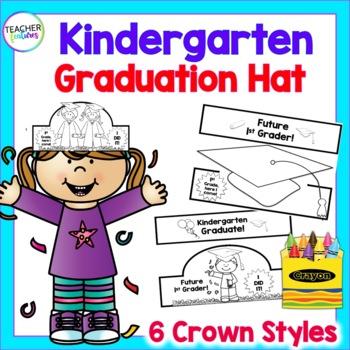 Kindergarten Graduation Crowns