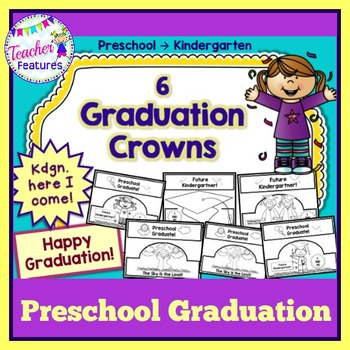 Preschool Graduation Crowns