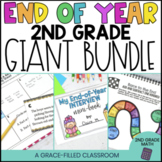 2nd Grade End of Year Math and ELA GIANT Bundle