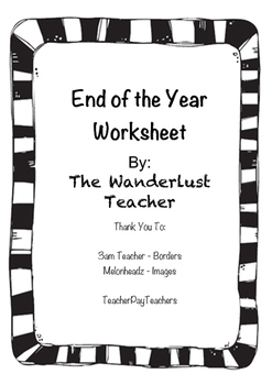 End of Year 3-2-1