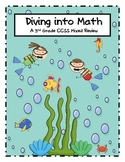 End of Year 3rd Grade CCSS Math Review Beach Theme