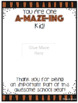 """End of Year """"A-MAZE-ING Kid"""" Thank You Notes with Editable PPT Files!"""