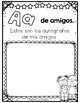 End of Year A to Z SPANISH Memory Book