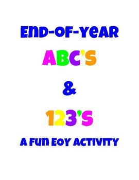 End-of-Year ABC's & 123's - Review Fun!