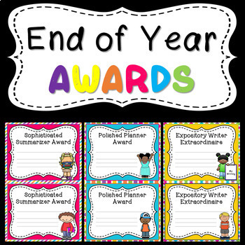 """End-of-Year AWARDS - (5""""X7.5"""")"""