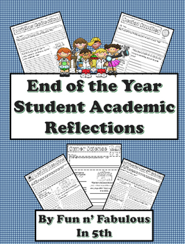 End of Year Academic Reflections