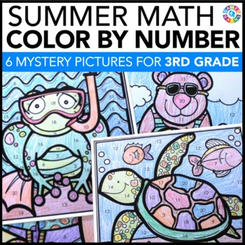 3rd Grade Math Review: 3rd Grade End of the Year Activitie