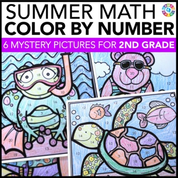 2nd Grade Math Review: 2nd Grade End of the Year Activitie