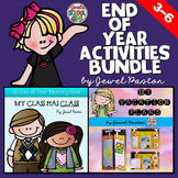 End of Year Activities BUNDLE (Memory Book and Country Res