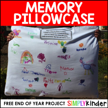 End of Year Pillowcases
