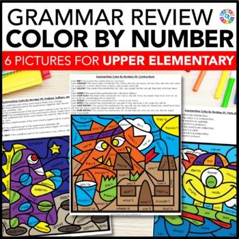 Upper Elementary Grammar Review (ELA Back to School Activities)