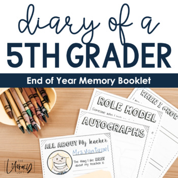 End of Year Activities {5th Grade}