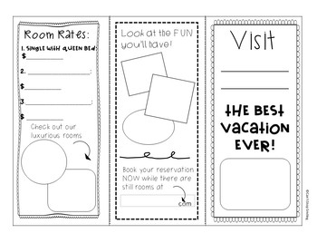 End of Year Activities ~ 3 FUN to Make Brochures ~ Last Week of School Activity