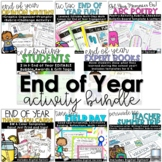 End of Year Activities with Digital | Fun Math Writing Review