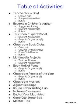 End of Year Activities Bundle No Prep Lesson Plans