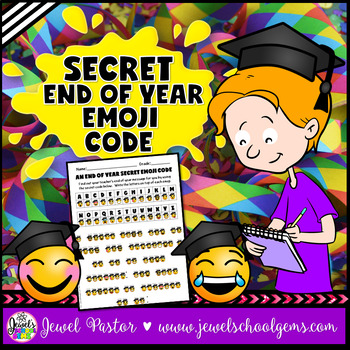 End of Year Activities (End of Year Emoji Activities)