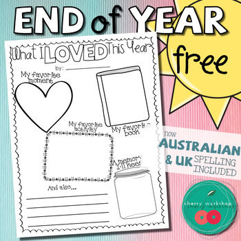 End of Year Activities Free