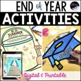 End of Year Activities, No Prep Last Week of School Activities