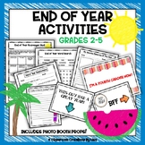 End of Year Activities - Grades 2 - 5