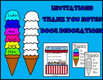 End of Year Ice Cream Party