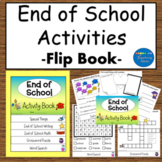 End of Year Activities Math and Language Flip Book
