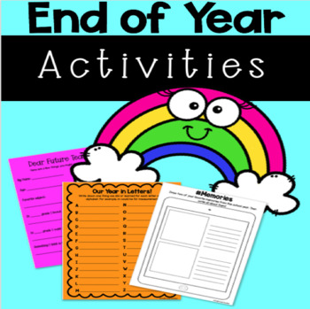 End of Year Activities-No Prep!