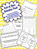 End of Year Activities Pack: May/June (Includes Student Ye