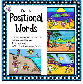 Summer Activities Prepositions/Position Words