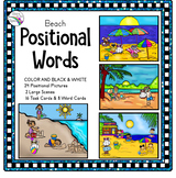 Summer Activities Prepositions/Position Words