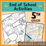 5th Grade End of Year Memory Book - End of Year Activities