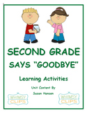 End of Year Activities: Second Grade Says Goodbye