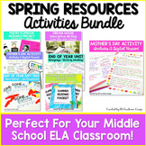 End of Year Writing Activities - Spring Activities Bundle
