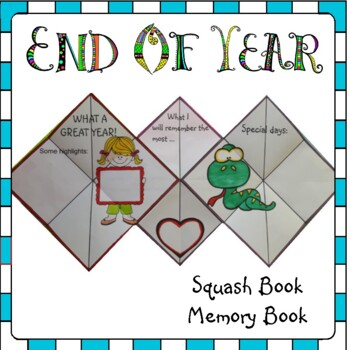 End of Year Activities - Squash Book