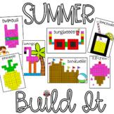 End of Year Activities:  Summer Build It Math Mats