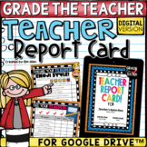 End of Year Activities Teacher Report Card Google Classroom™ Distance Learning