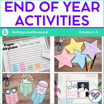 End of Year Activities and Bulletin Board Displays