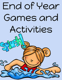 End of Year Activities and Games: 3rd Grade